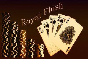 Royal Flush is de beste kaartencombinatie bij poker
